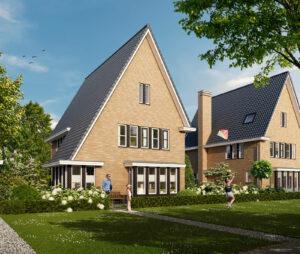 Nieuwbouw Zoetermeer - Achterzijde - Weidse Weelde Zoetermeer