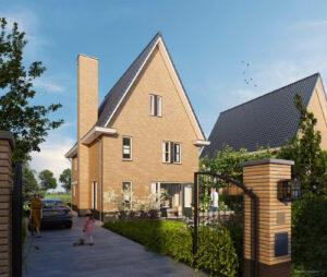 Nieuwbouw Zoetermeer - Voorzijde - Weidse Weelde Zoetermeer